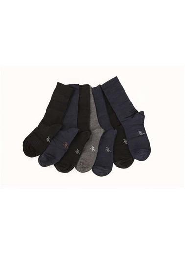 IGS Igs 177242020 Standart Beden 7'Li Renkli Erkek Çorap Renkli